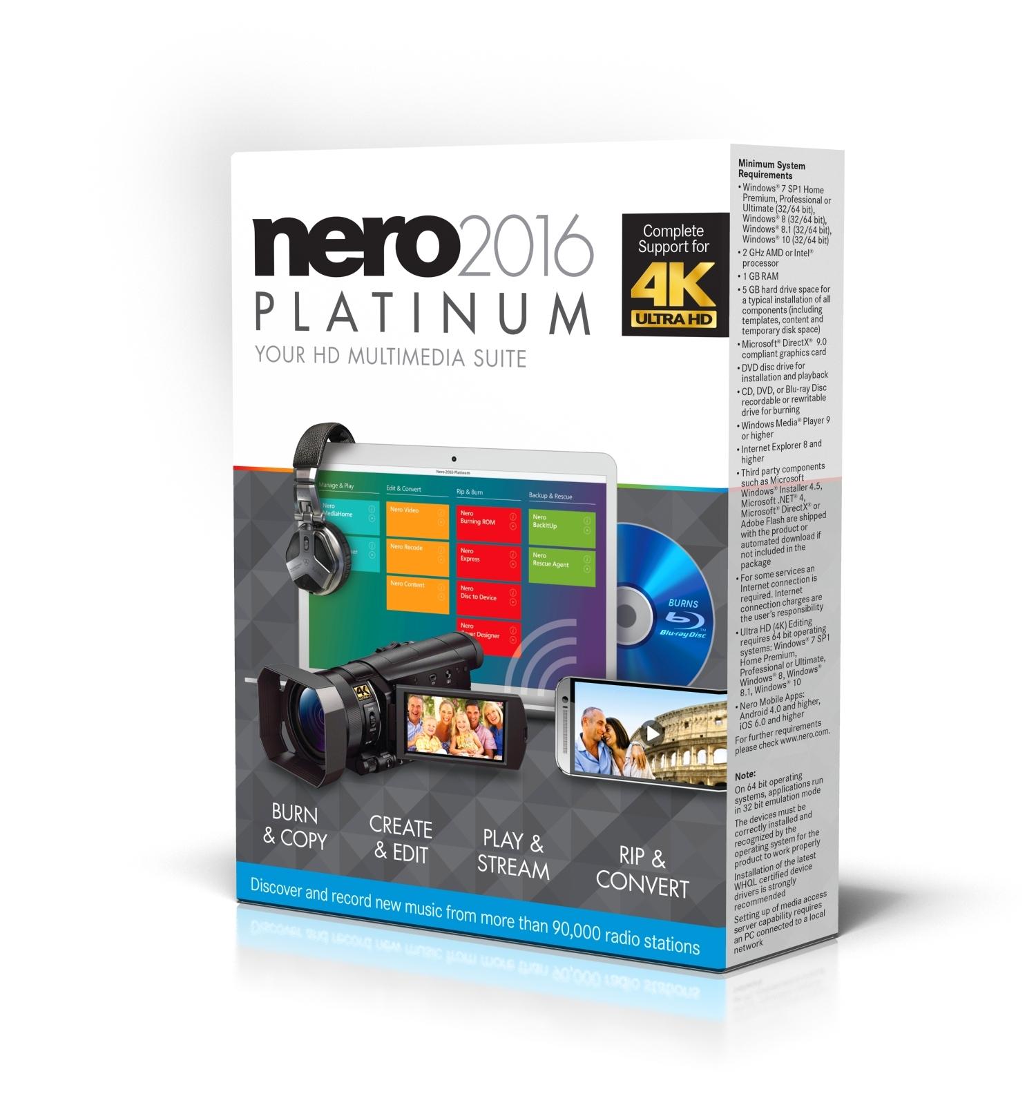 nero 2016 platinum activator